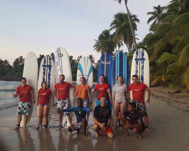 Group Surf Lessons Las Terrenas