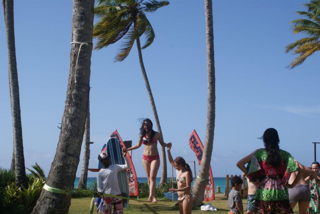 Surf Camp Slackline